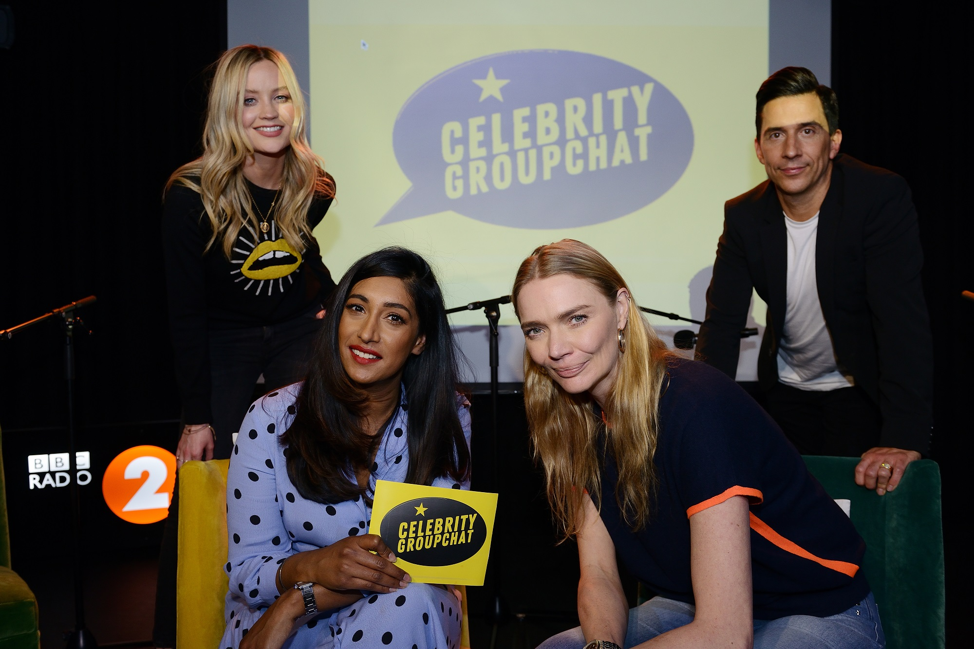 Celebrity Groupchat featuring Tina Daheley, Russell Kane, Jodie Kidd and Laura Whitmore