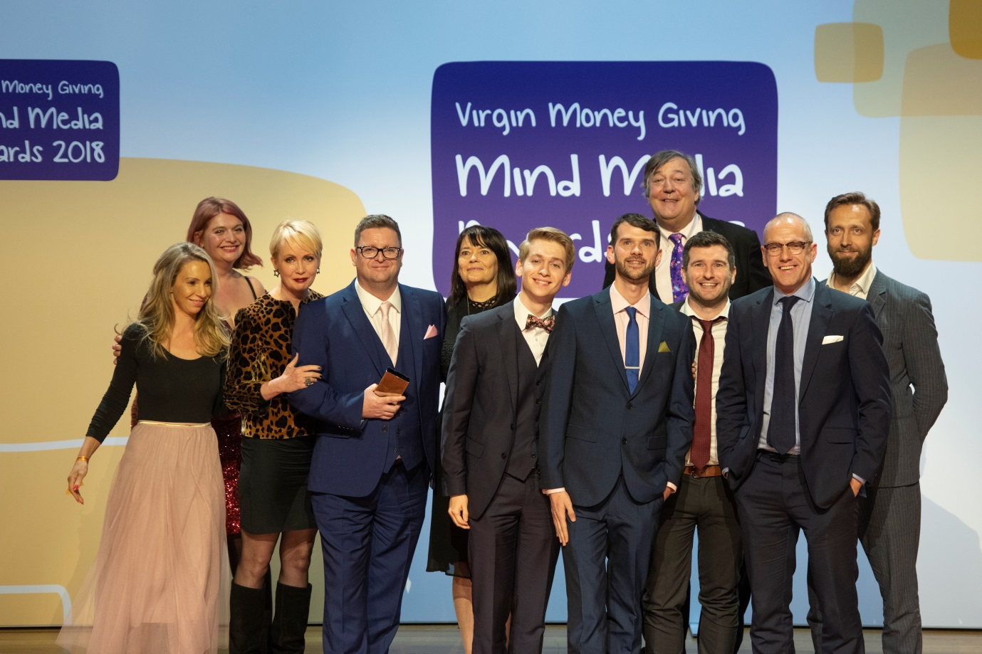 Hollyoaks Wins 'Making a Difference' Award at Virgin Money Giving Mind Media Award 2018