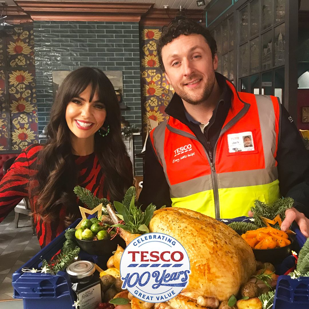 Hollyoaks partners with Tesco this Christmas